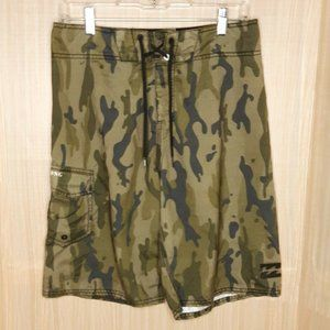Billabong Mens Camouflage Swim Board Shorts 30